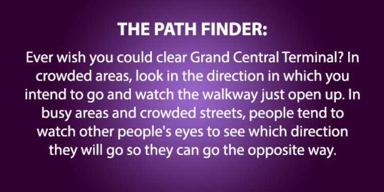 6) The Path Finder