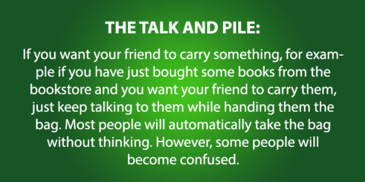 9) The Talk and Pile