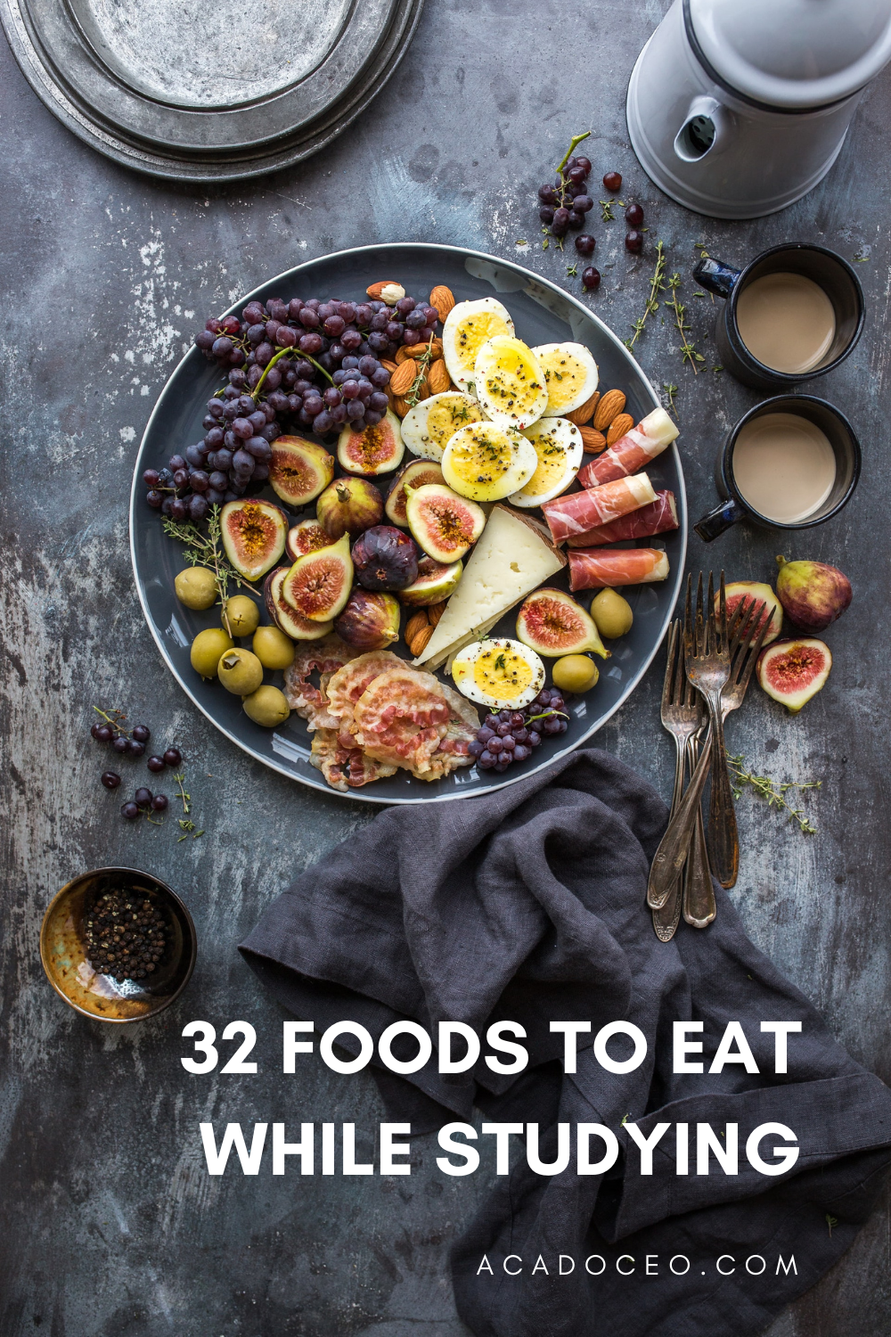 32 Foods to Eat While Studying