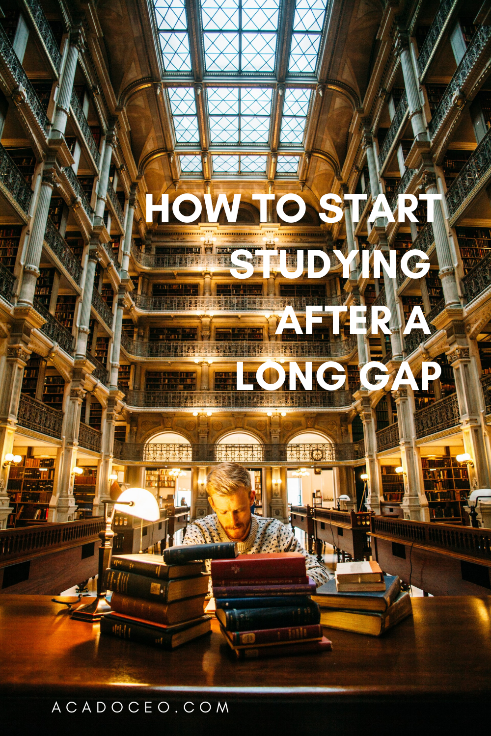 How to Start Studying After a Long Gap