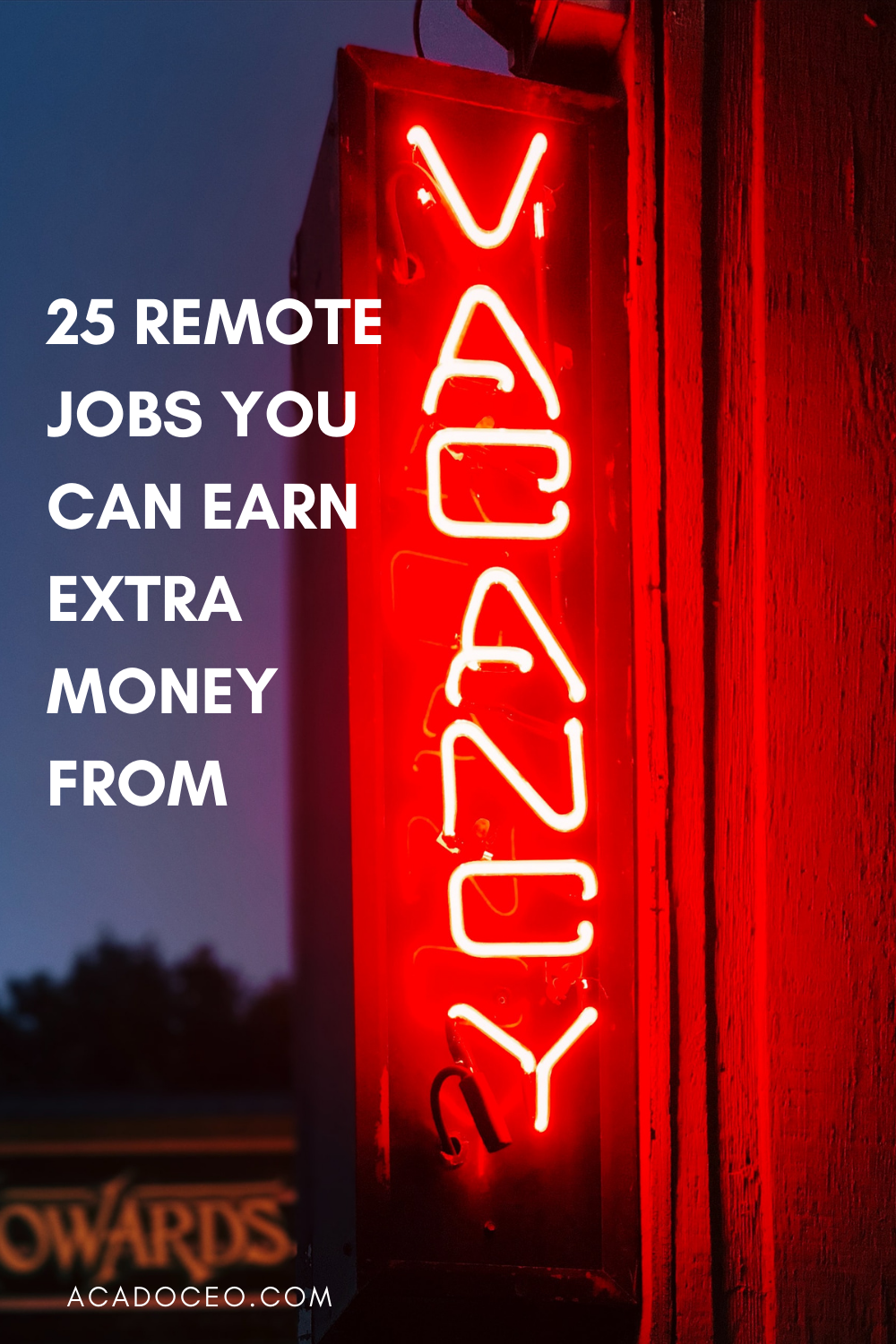 25 REMOTE JOBS YOU CAN EARN EXTRA MONEY FROM